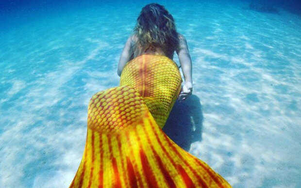 Mermaid Thighs sind die neue Thigh Gap