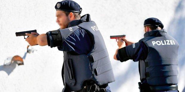 Polizei stoppte Messer-Mann mit Schüssen