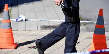 Messerattacke auf Polizisten