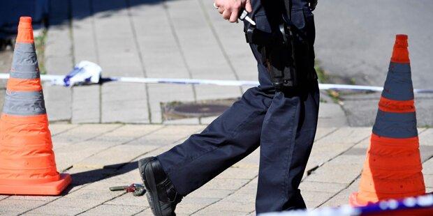 Ein Mann attackierte mehrere Menschen