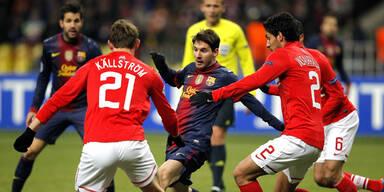 Barca und Valencia im Achtelfinale