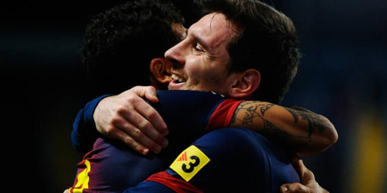 Barcelona-Sieg - Messi baute Torrekord aus