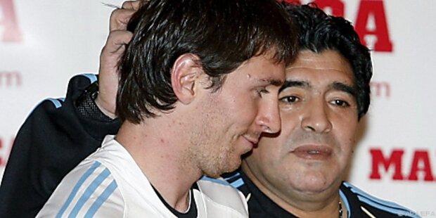 Maradona schwärmt von Messi:
