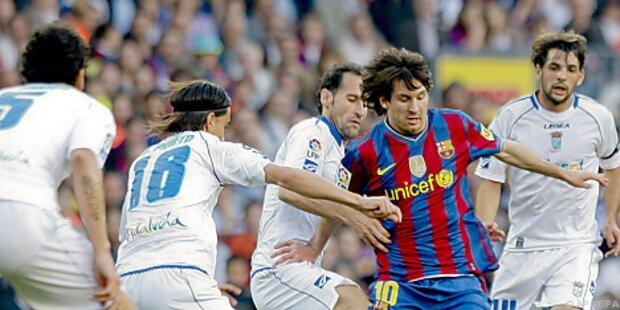 Barcelona weiter an der Spitze, auch Real gewann