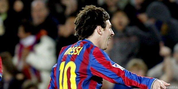 Fußball: Barcelona siegte trotz zwei roten Karten