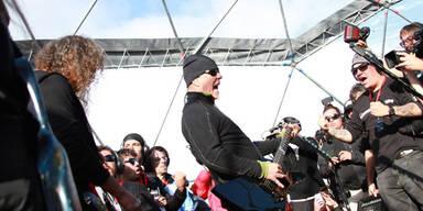 Metallica brachten Antarktis zum Kochen