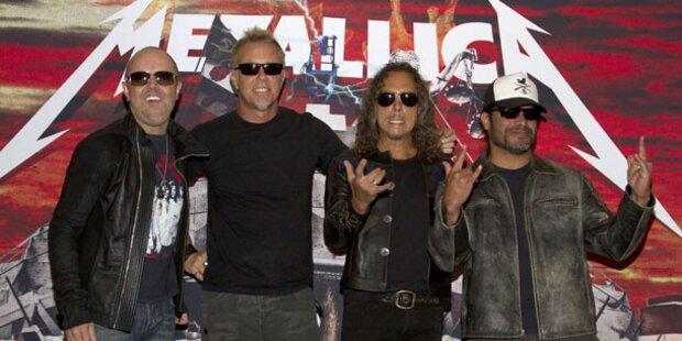 Metallica tüfftelt an neuem Album