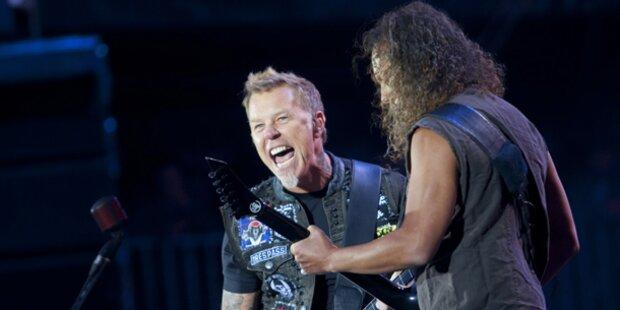 Metallica feierten in Prag Tourstart