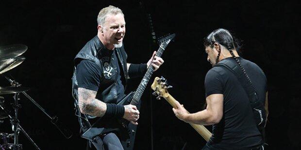 Metallica spendet für Wiener Obdachlose