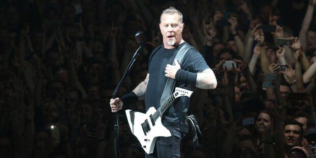 15.500 Fans feierten Metallica in Wien