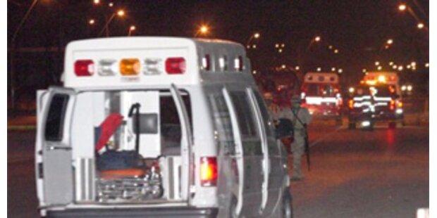 Zehn Verletzte bei Granatenanschlägen in Mexiko