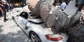 Schweres Erdbeben erschüttert Mexiko-Stadt