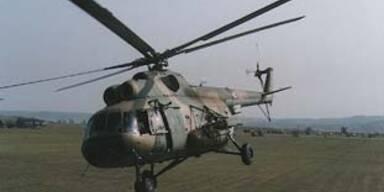 Sieben Soldaten bei Hubschrauberabsturz getötet