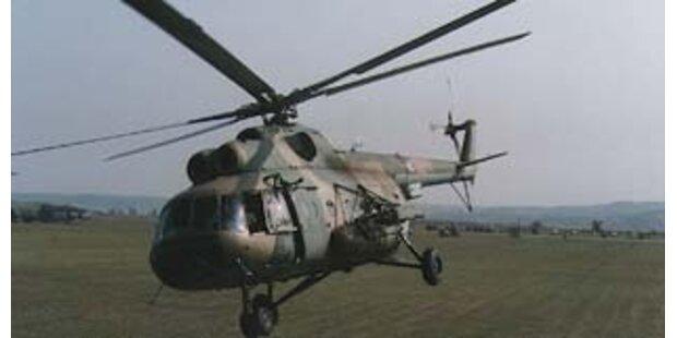 13 Tote bei Absturz von ukrainischem Hubschrauber