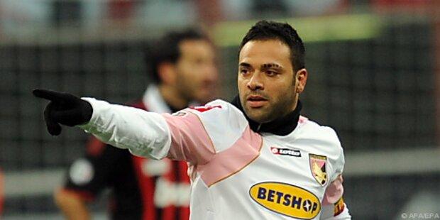 Palermo-Stürmer Miccoli erwarb Maradona-Ohrring