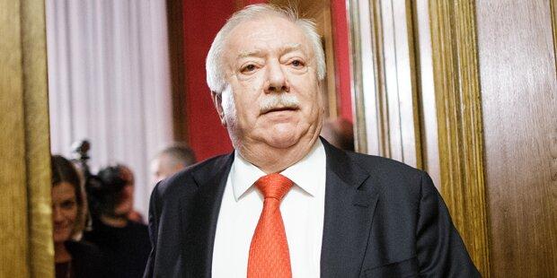 Das sagt Häupl zum Wehsely-Rücktritt