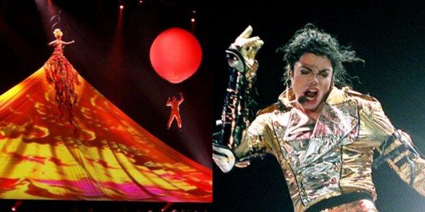 Cirque du Soleil bringt Jacko nach Wien