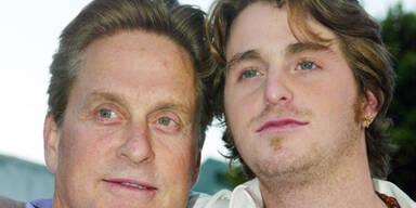 Michael Douglas & sein Sohn Cameron