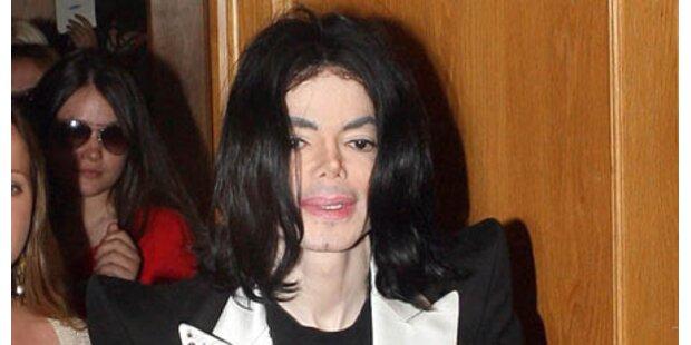 Michael Jackson gestand Tablettensucht