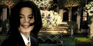 Michael Jackson: Beerdigung sarg