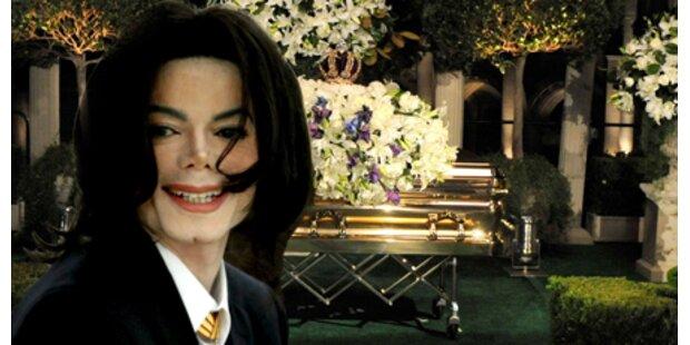 Jackson-Begräbnis kostete über 1 Million