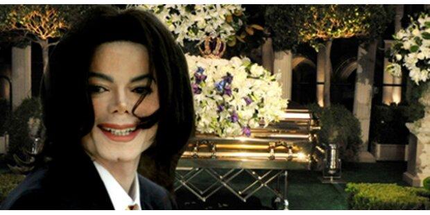 Ist Michael Jacksons Sarg leer?