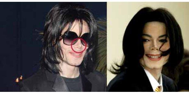 Michael Jackson schenkt sich neue Nase zum 50-er