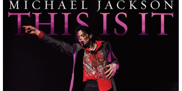 Jackson-Film auch in Österreich Nr. 1