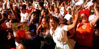 Michael Jackson: Trauerfeier für Fans im Apollo-Theater