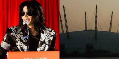 Michael Jackson sollte 50 Konzerte in der Londoner 02 Arena geben