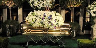 Michael Jackson wurde beigesetzt sarg