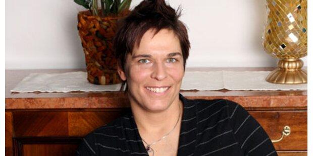 Michaela Dorfmeister ist stolze Mama