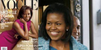 Michelle Obama auf dem Cover der