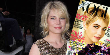 Michelle Williams auf dem Cover der VOGUE