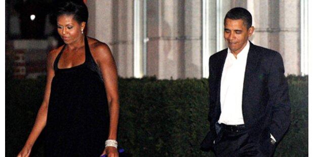 Obamas: Krise am 17. Hochzeitstag