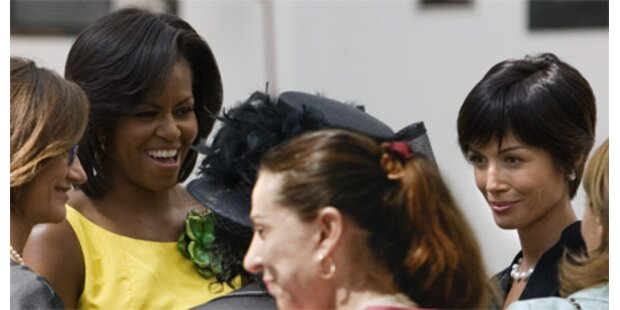 Berlusconis Showgirl traf Michelle Obama