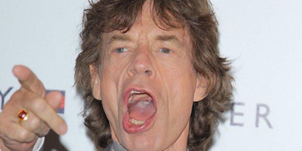 Mick Jagger: Erster Grammy-Auftritt