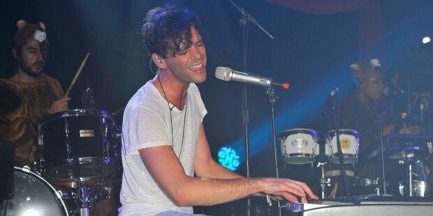 Mika beschallt Wien mit Liebesliedern