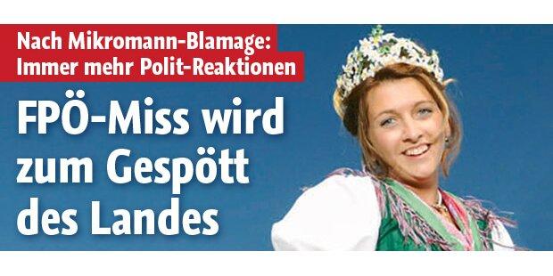 FPÖ-Miss wird zum Gespött des Landes