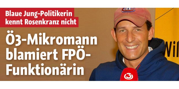 Blamage für FPÖ-Funktionärin auf Ö3