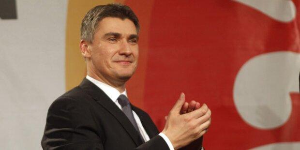 Zoran Milanovic ist neuer Premier