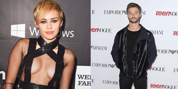 Miley Cyrus angelt sich Arnie-Sohn