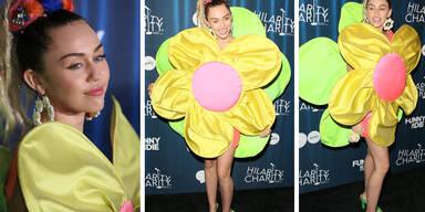 """Miley Cyrus im """"Blumenkleid"""""""