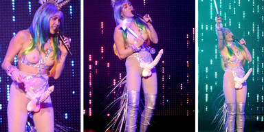 Miley Cyrus im absoluten Schock-Outfit