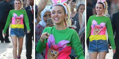 Miley Cyrus im Häschen-Look