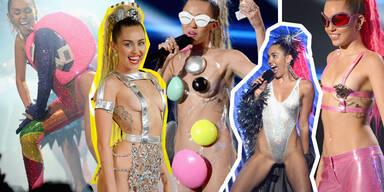 So versexte Miley die VMAs!