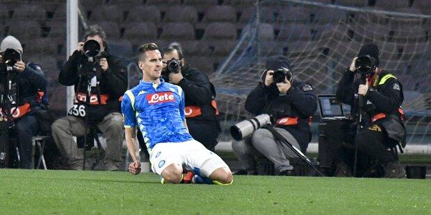 Napoli mit Zuversicht vor Salzburg-Duell