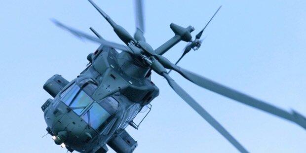 Mehrere Tote bei Hubschrauber-Absturz
