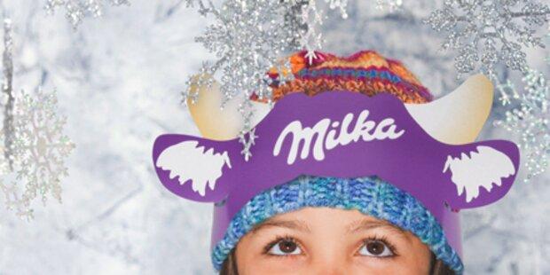 Entdecke die Milka-Weihnachtswelt