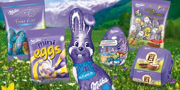 Gewinner Milka Osterpakete